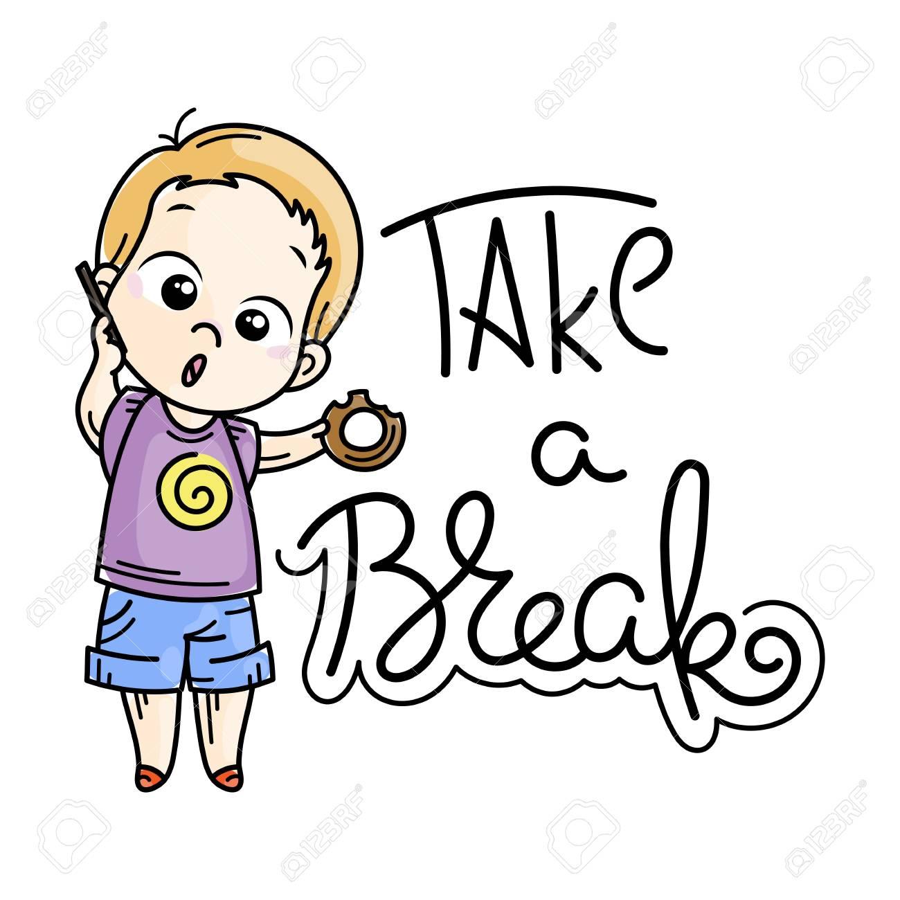 Take A Break Clipart Kids