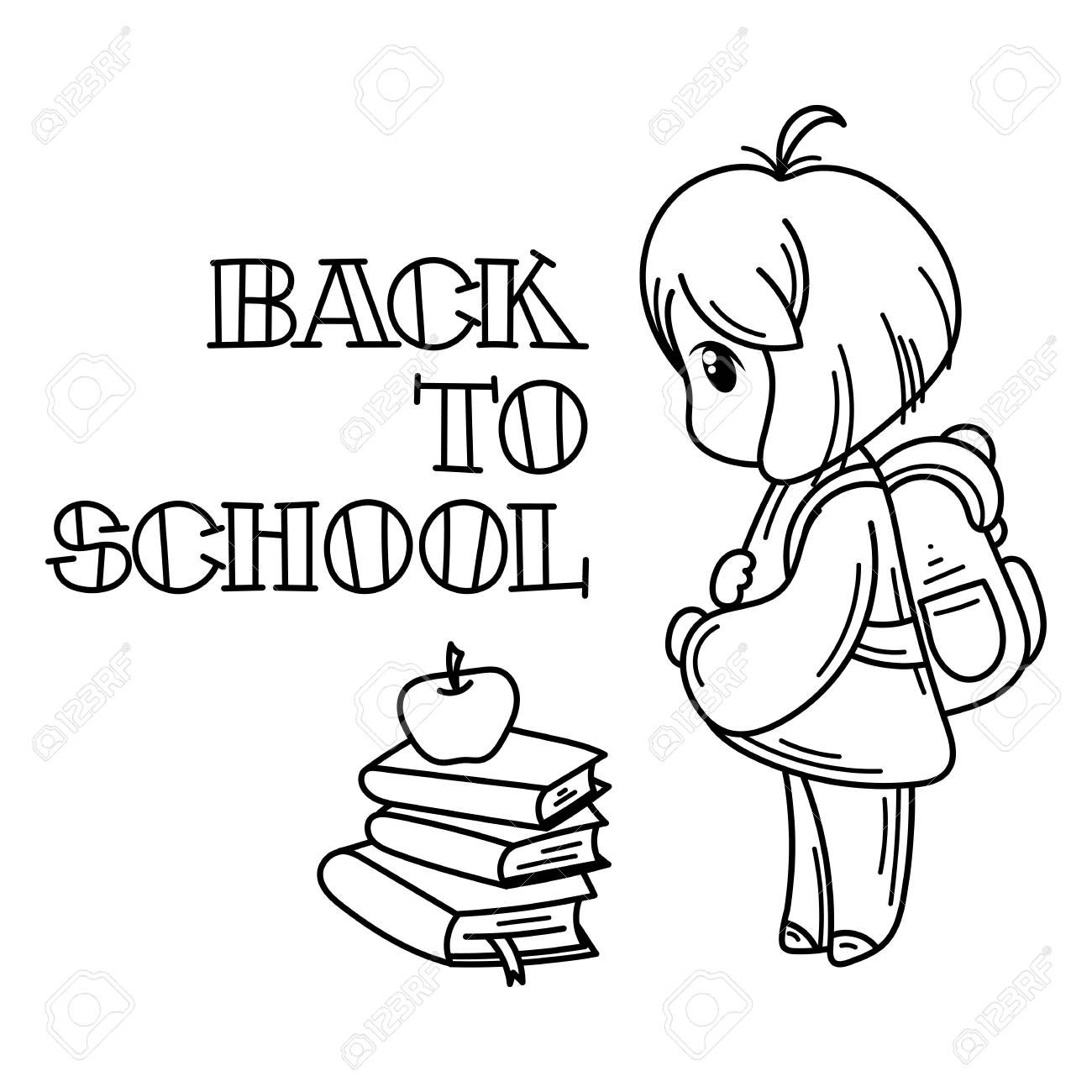 Back To School | Free Coloring Pages | crayola.com | 1300x1300
