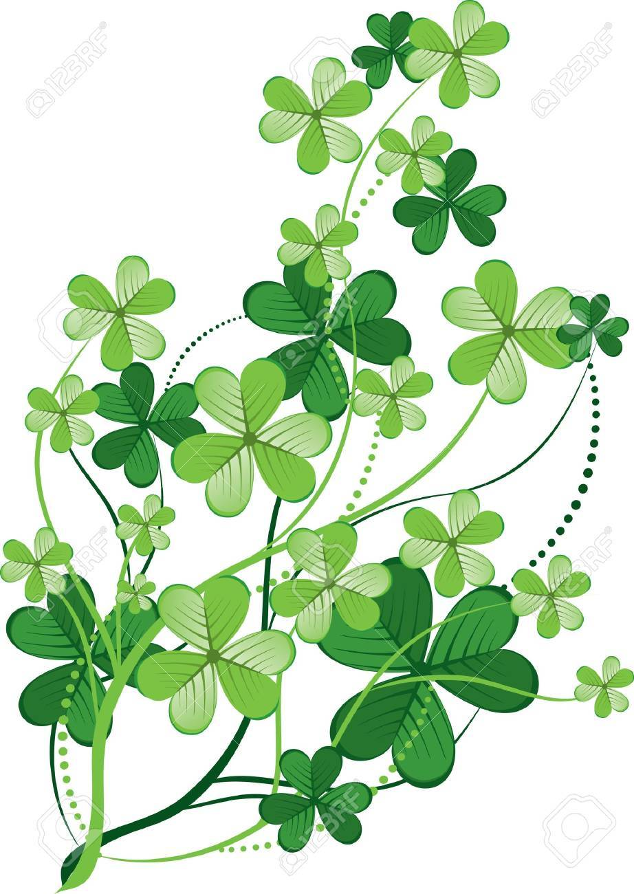St  Patrick day  background Stock Vector - 12495417