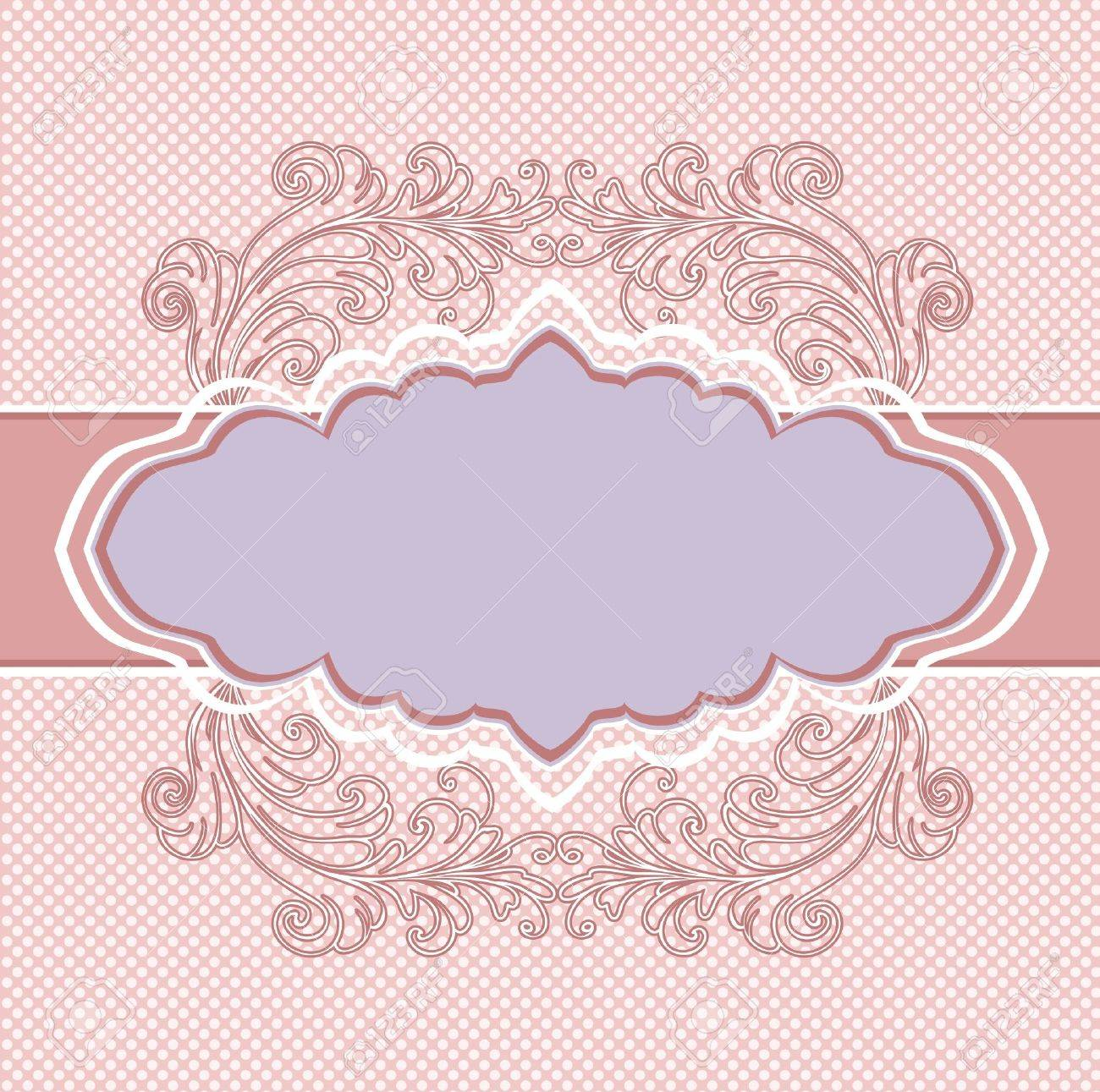 Vintage Floral Background Royalty Free Cliparts Vectors And