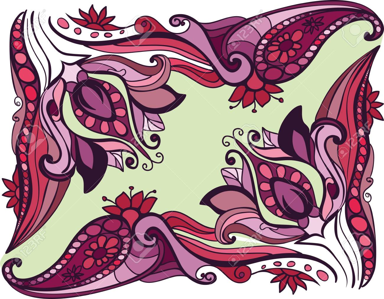 Floral background Stock Vector - 18157085