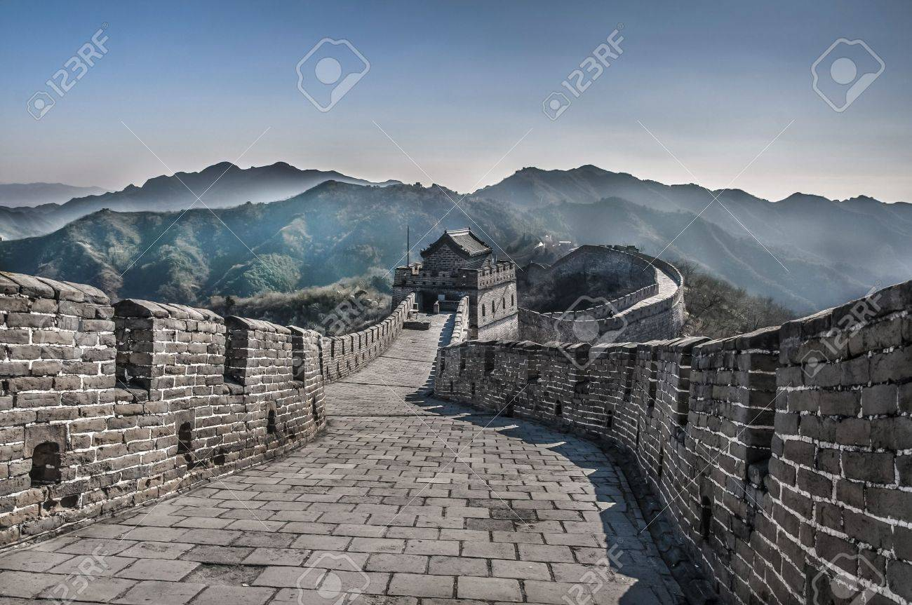 The Great Wall at Mutianyu Stock Photo - 15660047