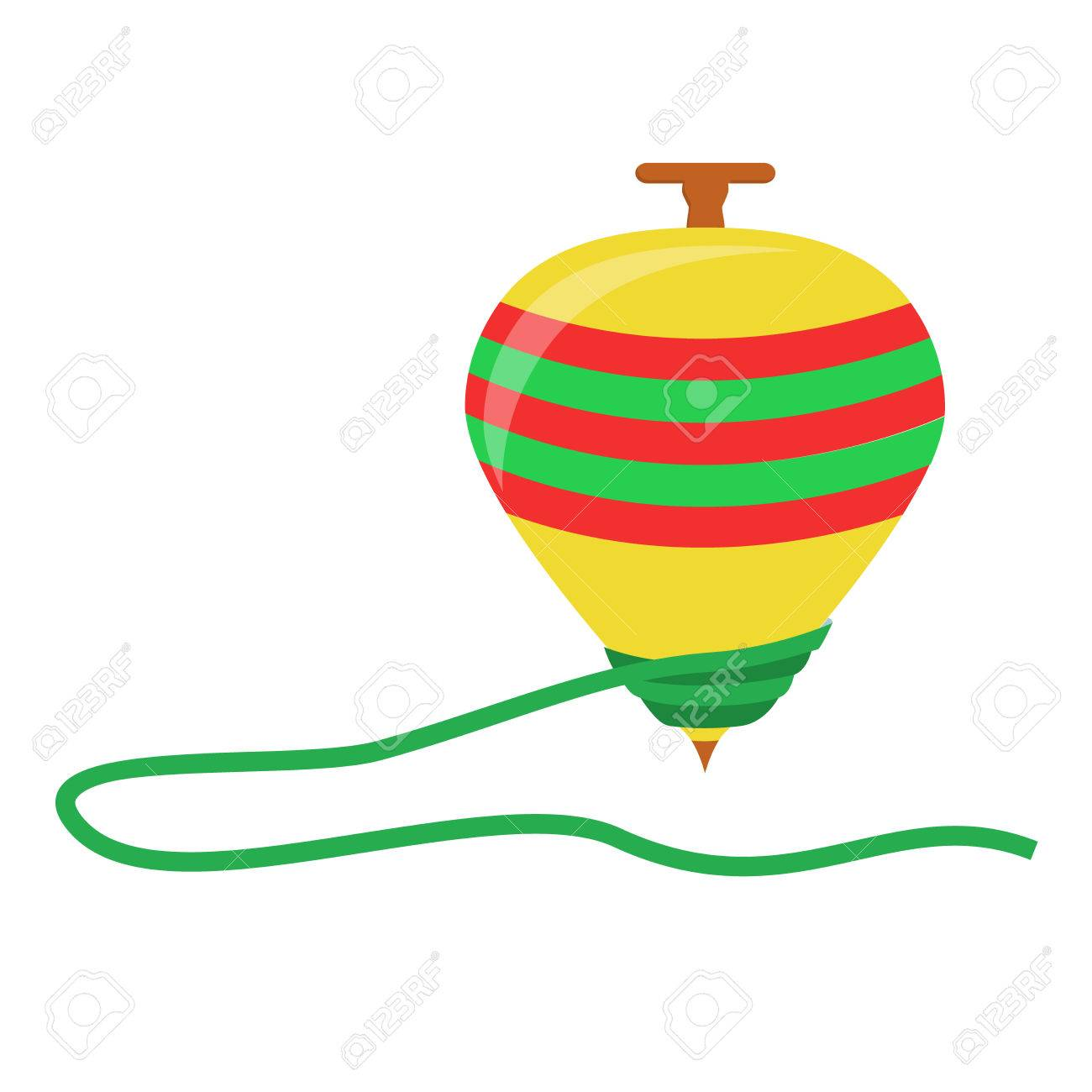 Spinning top toy in a white background isolated royalty free spinning top toy in a white background isolated stock vector 31873224 jeuxipadfo Images