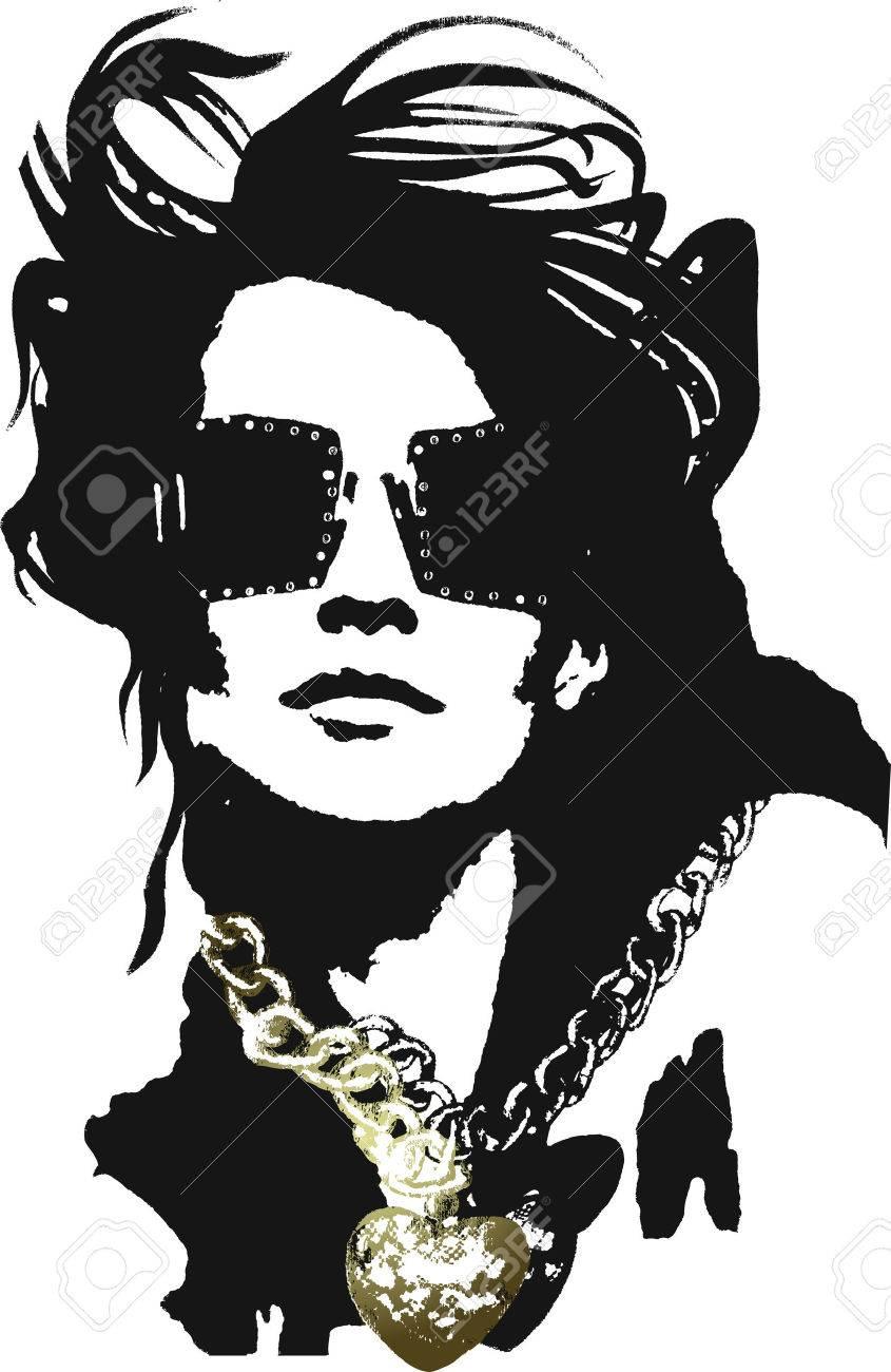 Woman pop art Stock Vector - 4852388