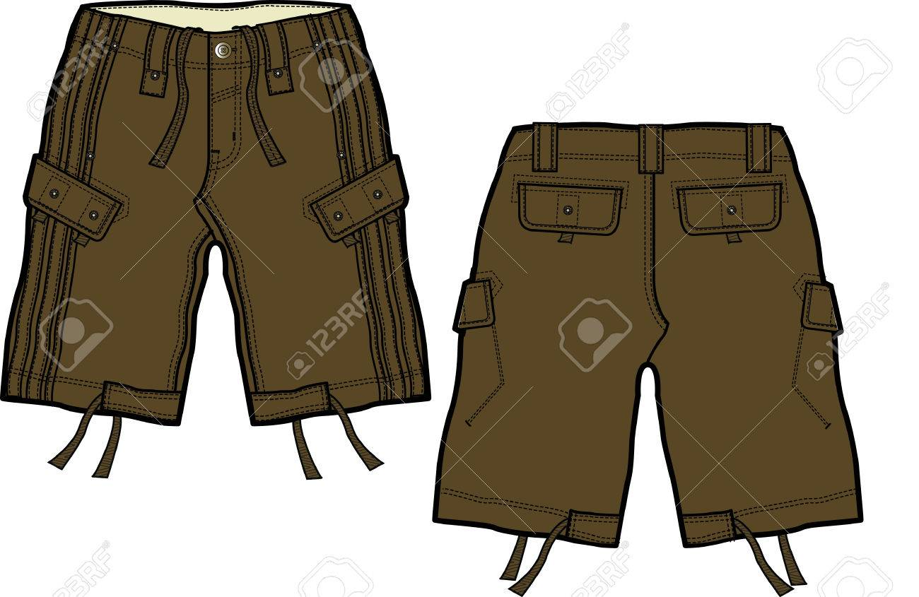 Boys Shorts Clip Art