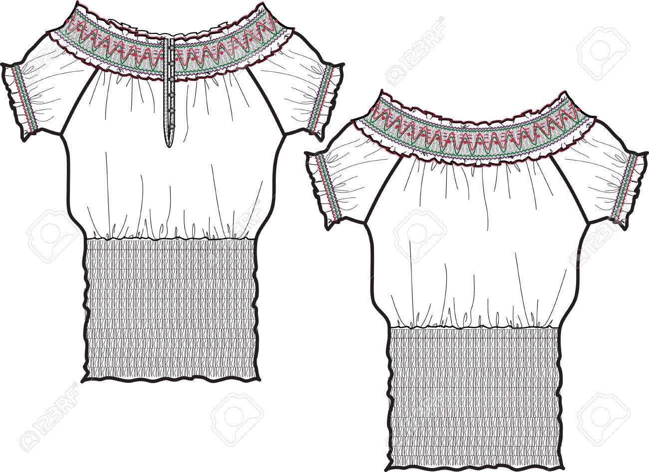 lady fashion blouse Stock Photo - 5294263