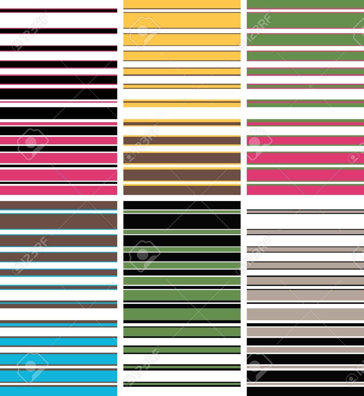 colourful stripe pattern Stock Vector - 6034803