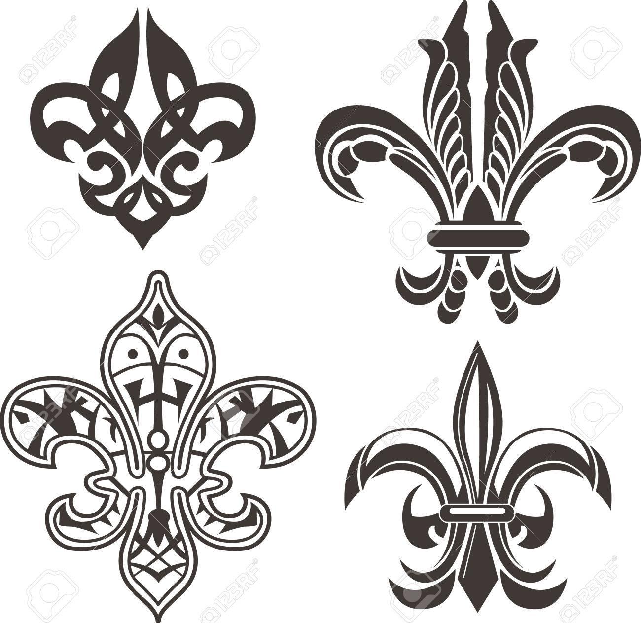 Classic fleur de lis symbol royalty free cliparts vectors and classic fleur de lis symbol stock vector 6670311 biocorpaavc