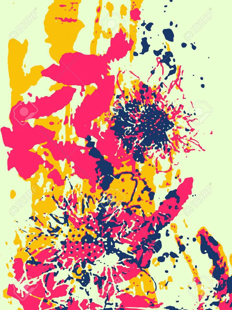 芸術的な花のイラストのイラスト素材ベクタ Image 6745142