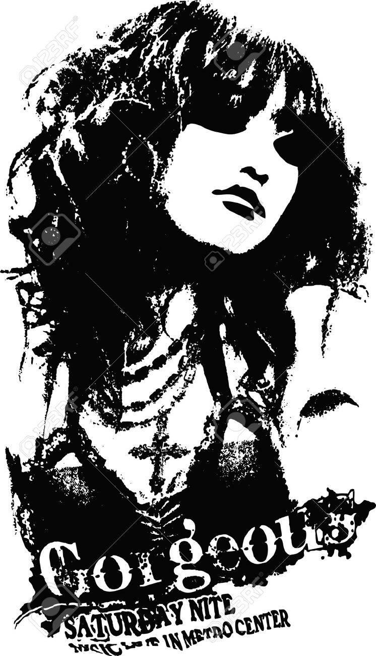 woman illustration Stock Vector - 6950760