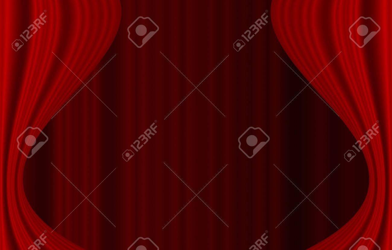 Roten vorhang tapeten lizenzfreie fotos, bilder und stock ...