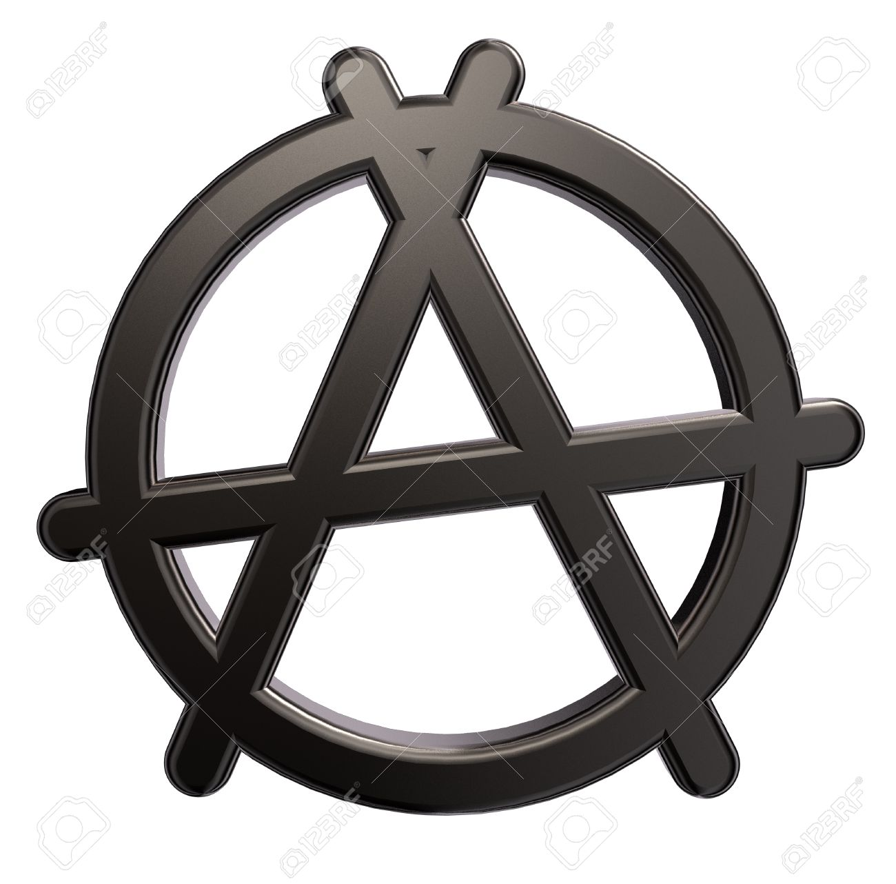 Metal anarchy symbol on white background 3d illustration stock metal anarchy symbol on white background 3d illustration stock illustration 15414543 buycottarizona