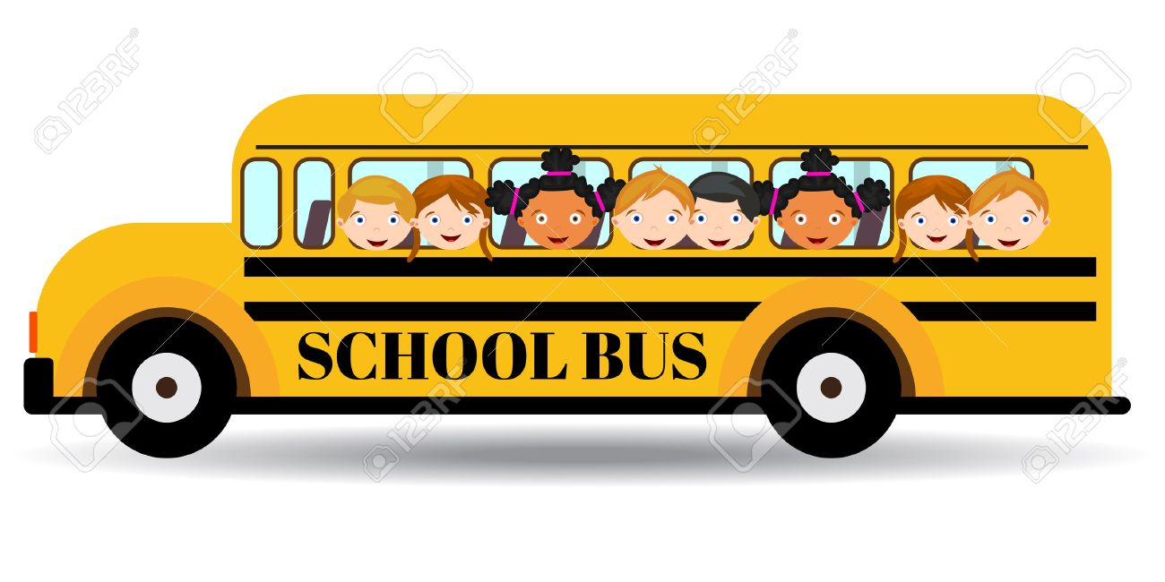 Image result for kids on a bus