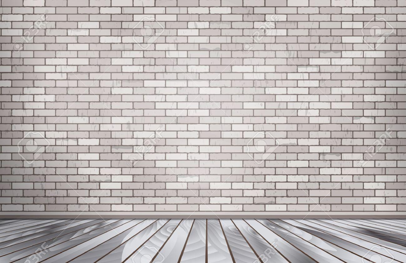 free awesome habitacin de ladrillo blanco pared de piedra foto de archivo with pared ladrillo blanco with pared de ladrillos blanca with pared ladrillos - Pared Ladrillo Blanco