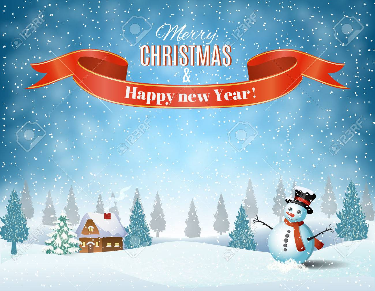 Christmas Scenery Stock Photos. Royalty Free Christmas Scenery Images