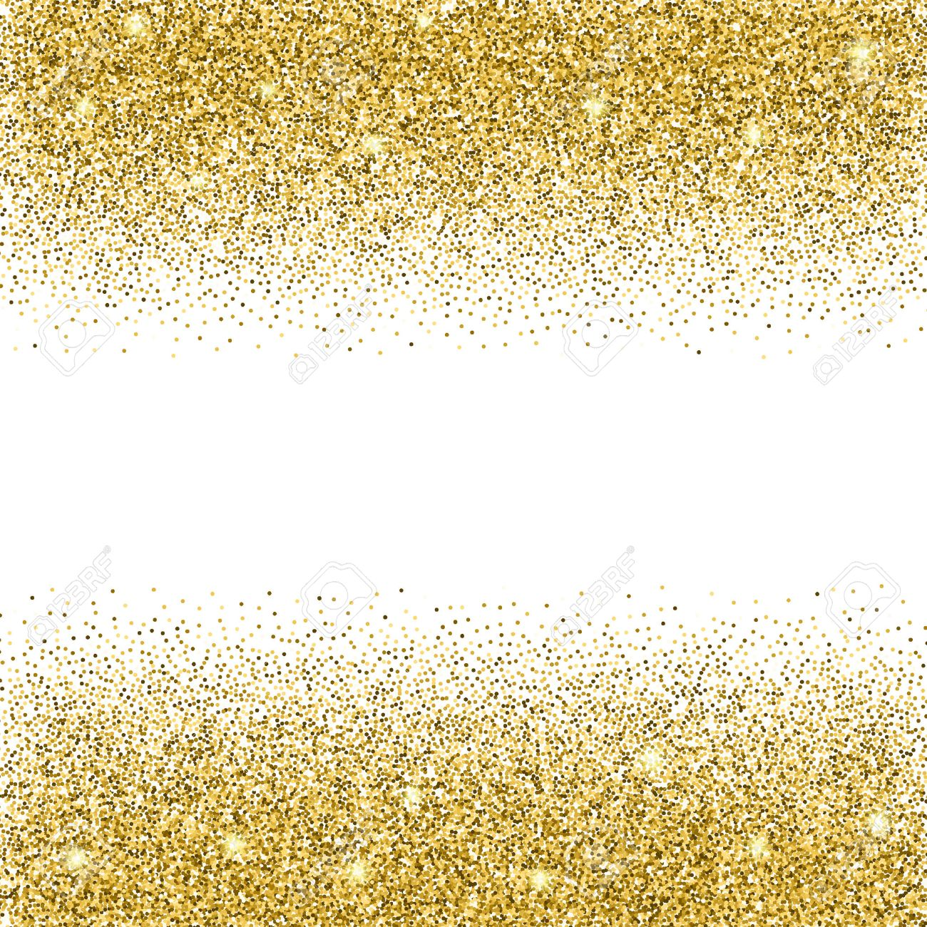 Or glitter background or brille sur fond blanc invitation crative or brille sur fond blanc invitation crative pour la fte vacances mariage anniversaire vector illustration glitter seamless texture stopboris Choice Image