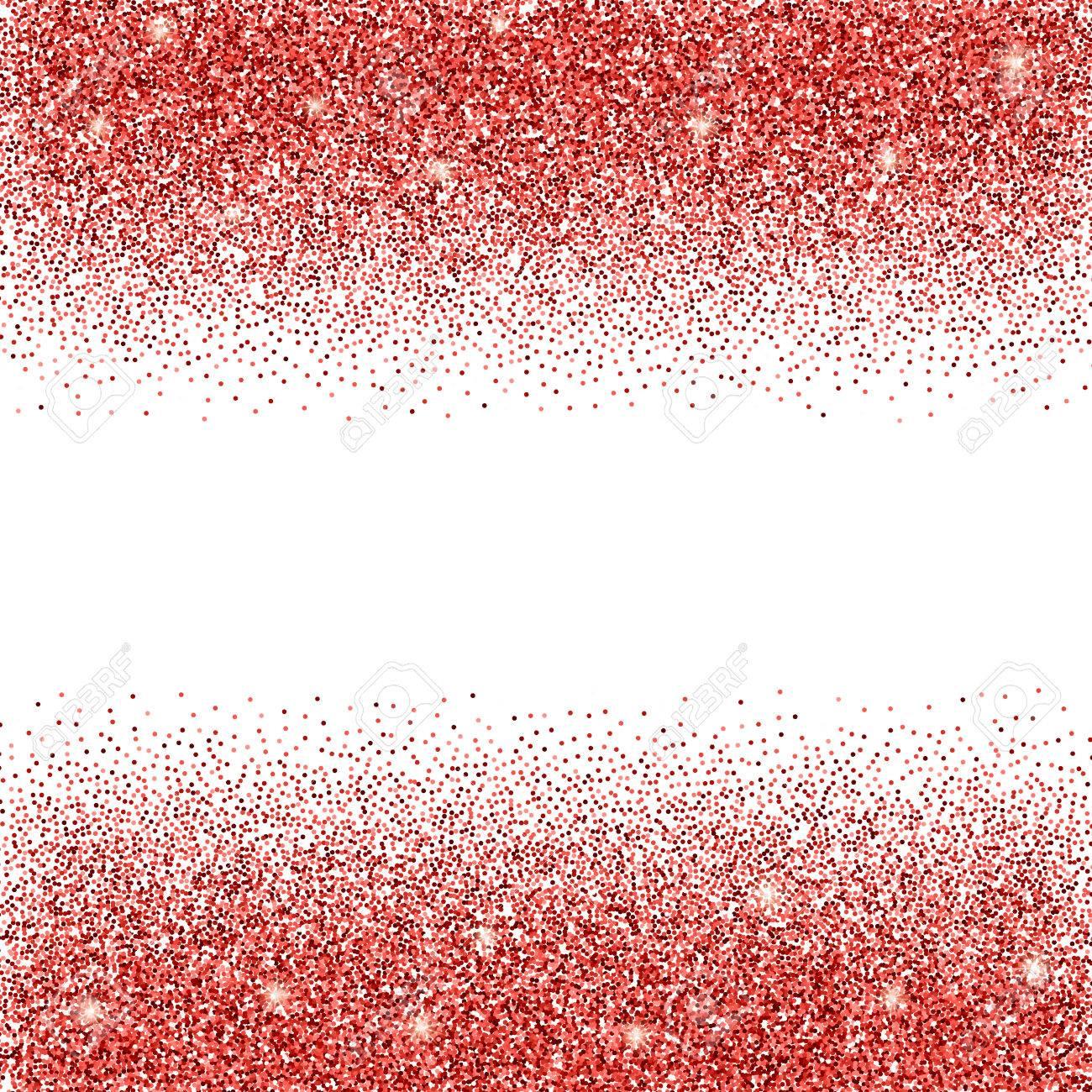 Red Glitter Background Rot Funkelt Auf Weissem Hintergrund Kreative