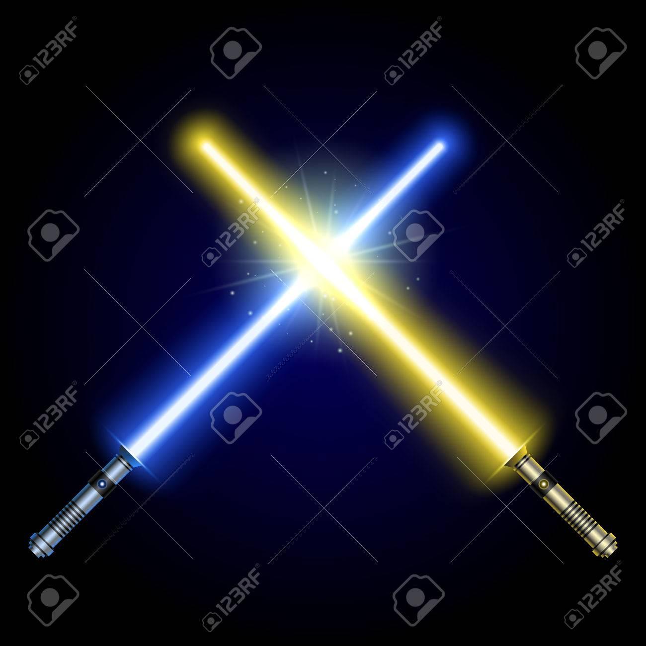 黄色 の ライトセーバー