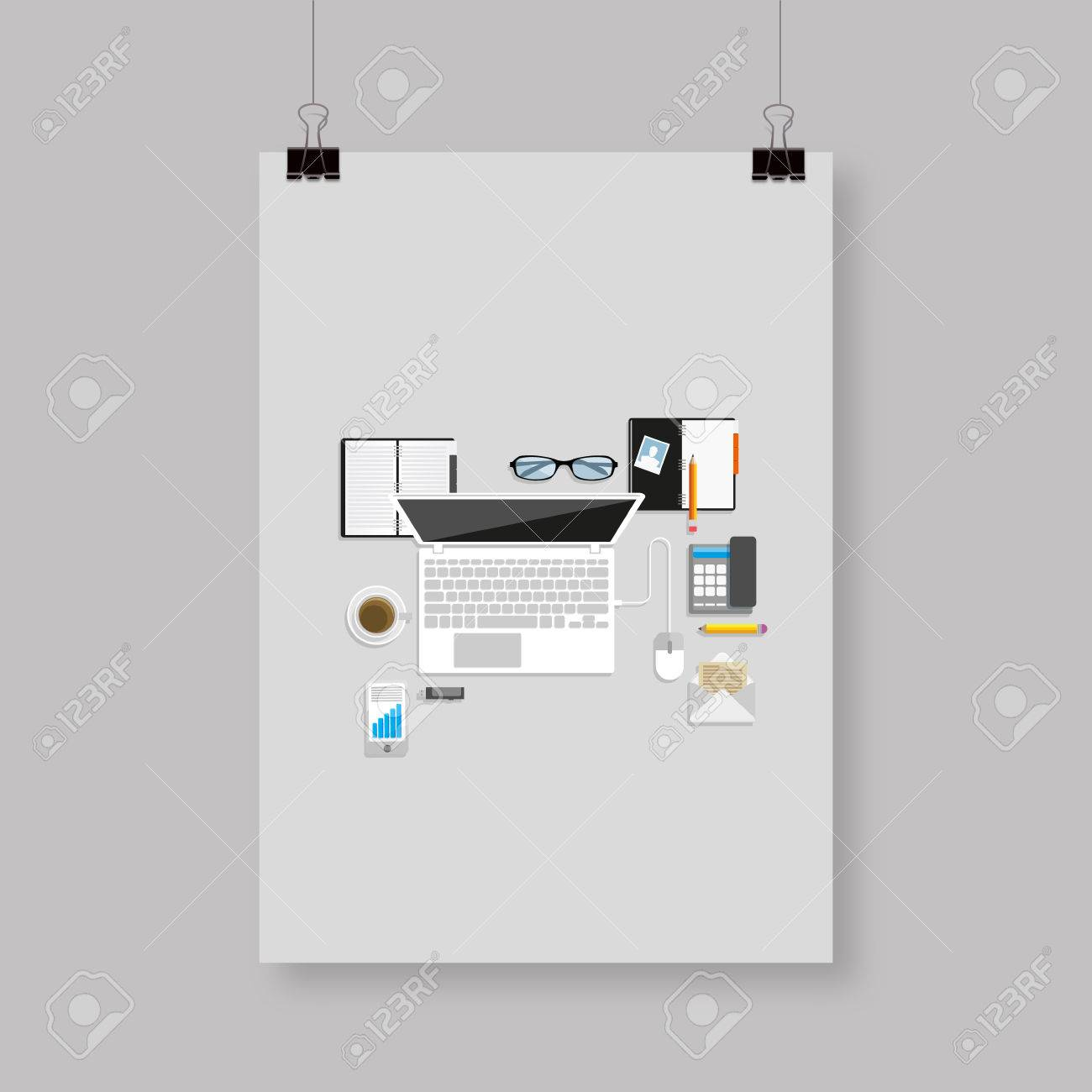Business plan template flyer editable vector illustration for business plan template flyer editable vector illustration for your design graphic design stock vector 41151164 accmission