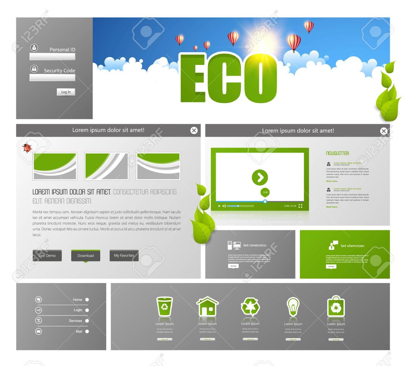 Ausgezeichnet Website Vorlagen Layouts Fotos - Beispiel Business ...