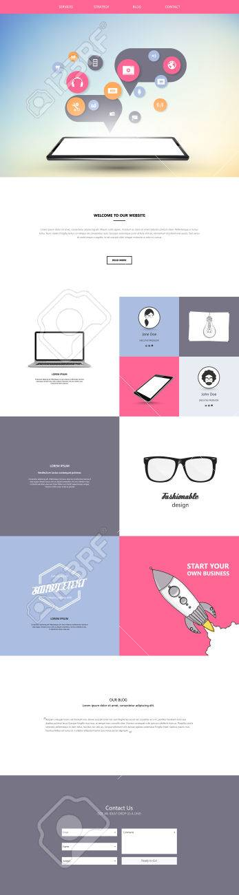 mobile friendly web templates