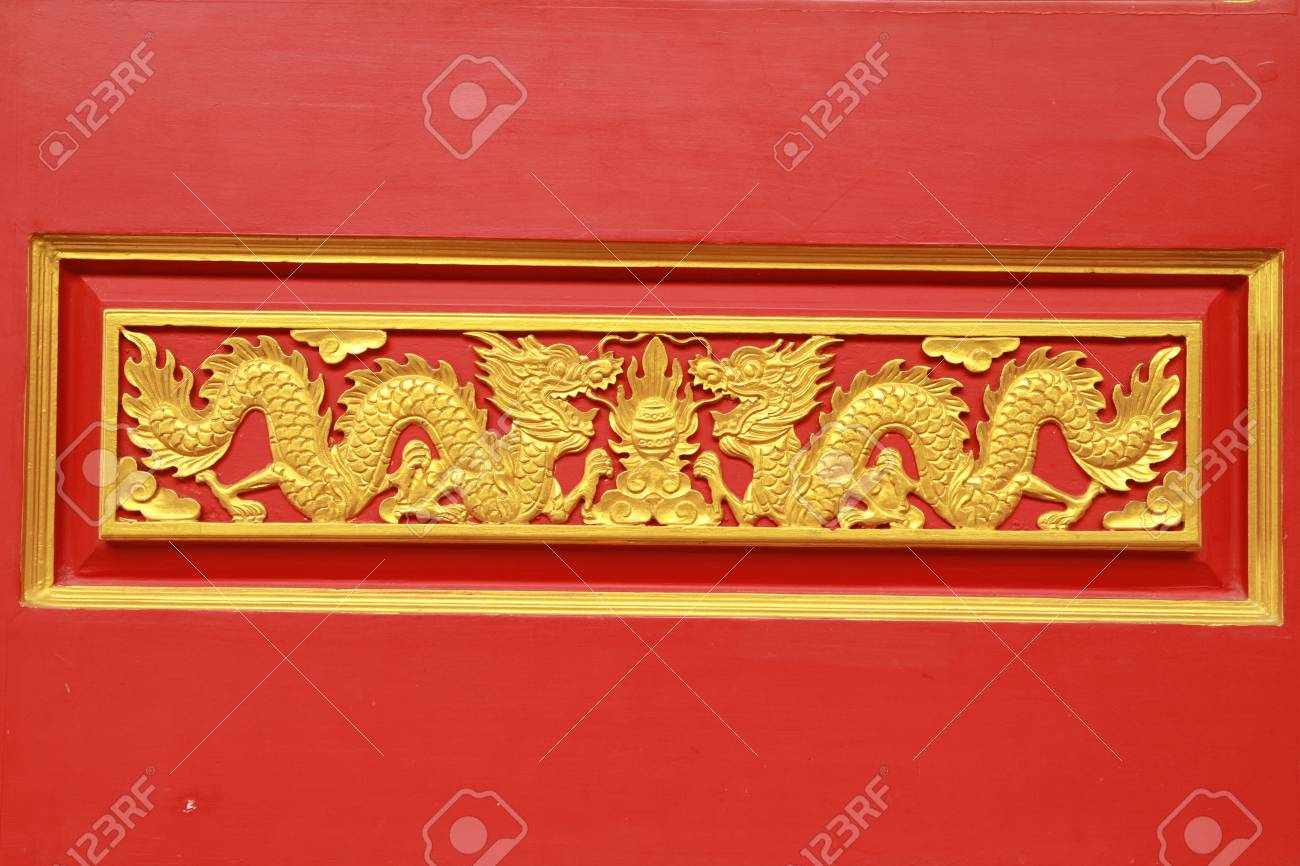Stock Photo: Dragon sculpture at chinese temple in Thailand Stock Photo - 10461866