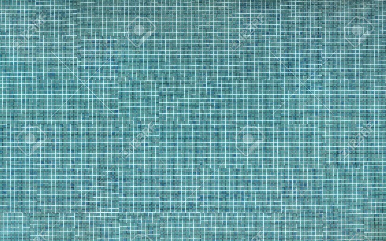 Blu senza soluzione di continuità piastrelle mosaico sfondo foto