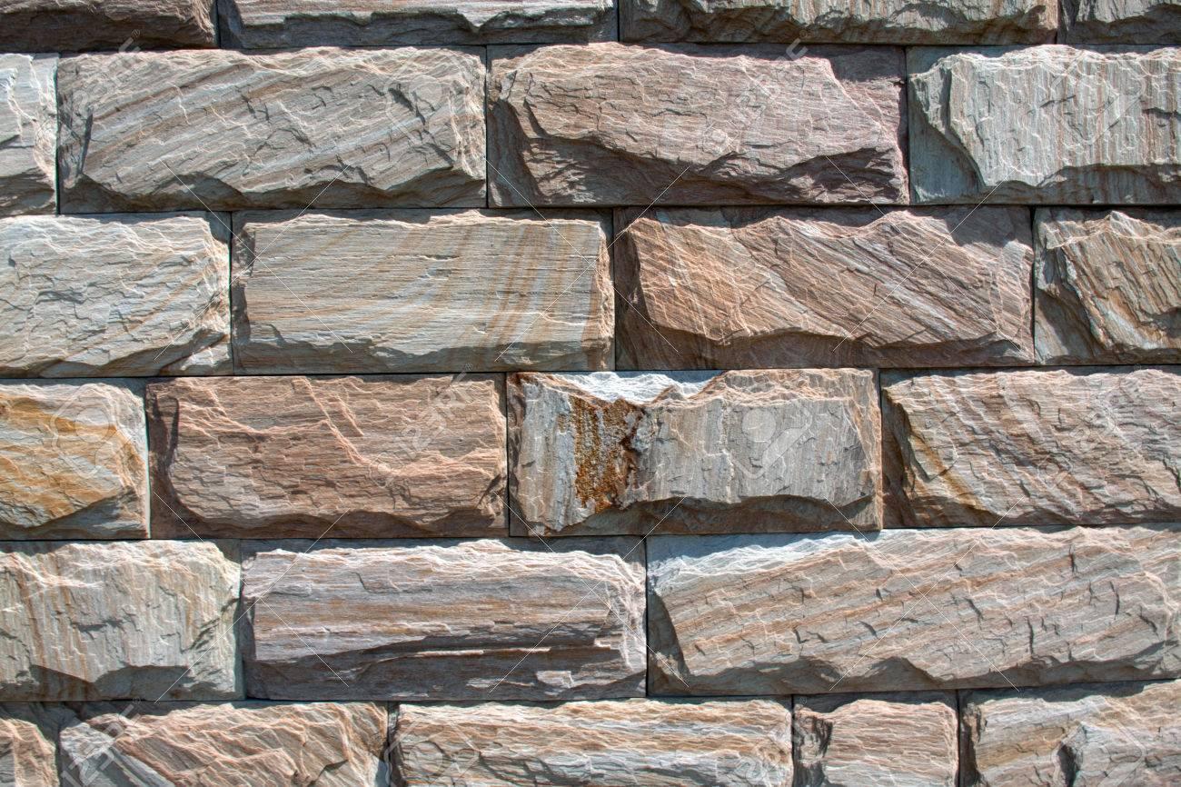 Stein, Stein Textur, Schöne Steinmuster, Außenordnung Der Steine ...
