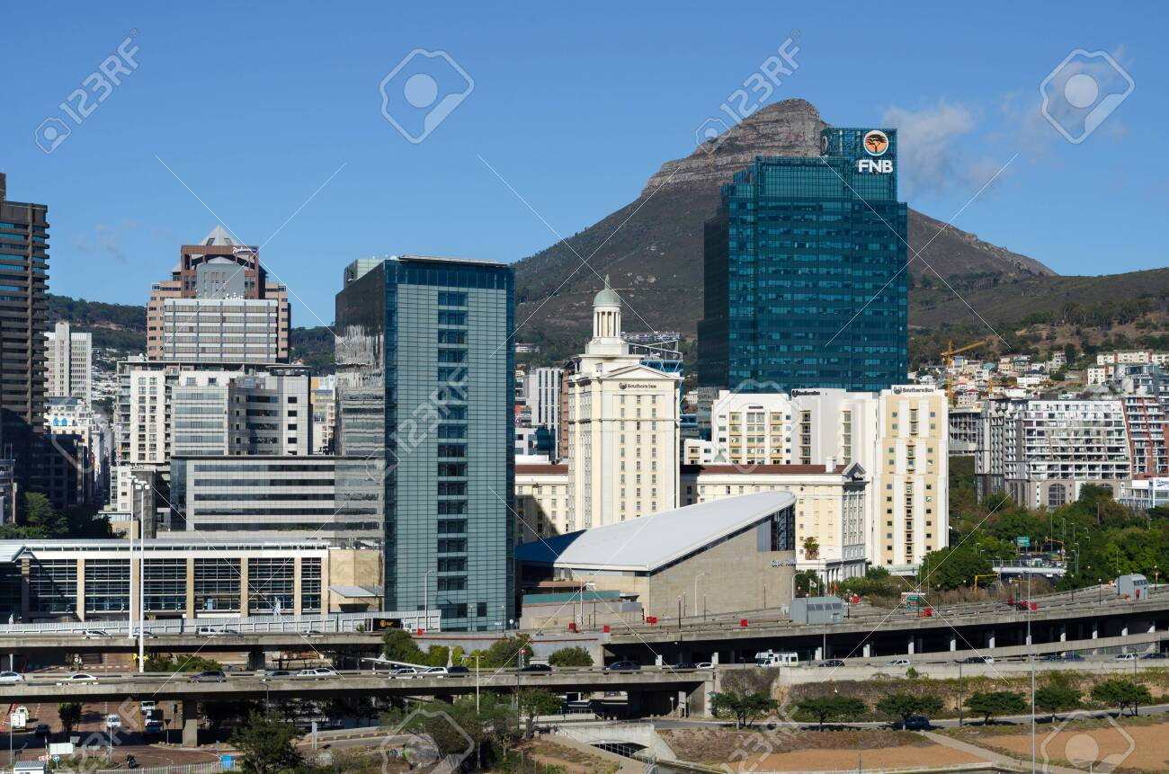 Cape Town, Republic of South Africa - April 10: Cityscape of Cape Town on April 10, 2018 in Cape Town, Republic of South Africa. - 149033952