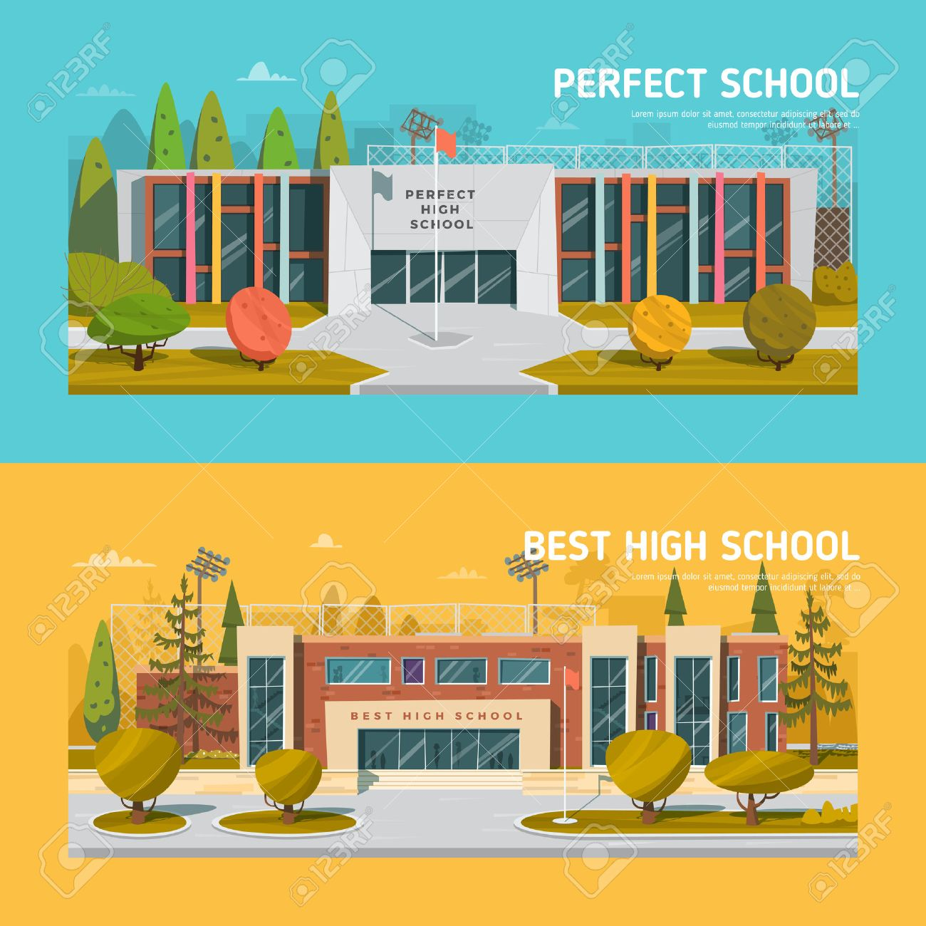 Educate theme vector collection. Architecture. - 50476802