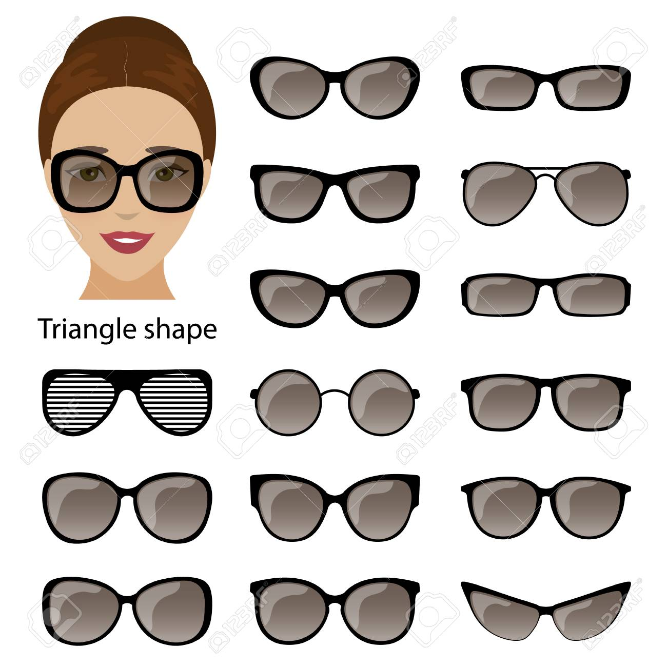 Tolle Wählen Glasrahmen Gesichtsform Fotos - Benutzerdefinierte ...