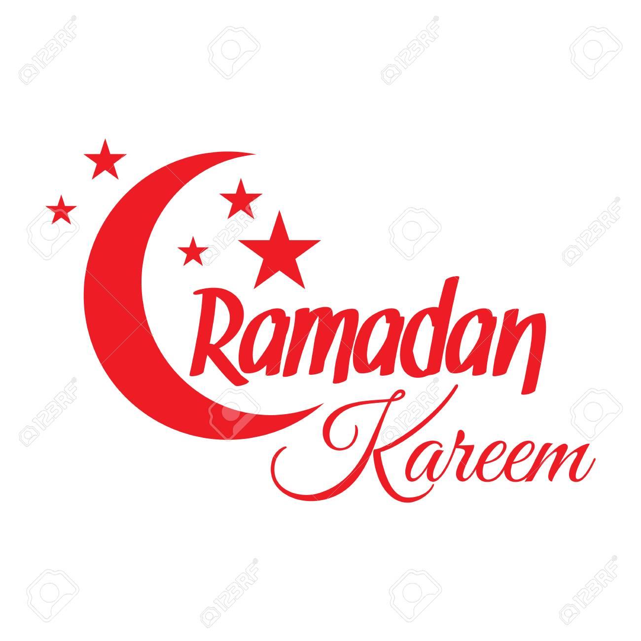 Ramadan kareem greeting card islamic crescent moon and stars ramadan kareem greeting card islamic crescent moon and stars illustration for muslim holy month m4hsunfo