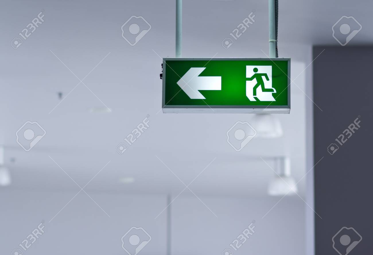 Fire exit Stock Photo - 12248878