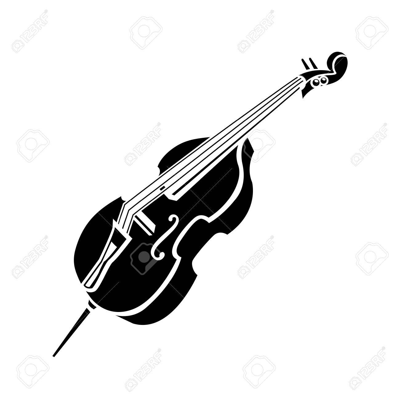 Cello Icon Royalty Free Cliparts Vectors And Stock Illustration