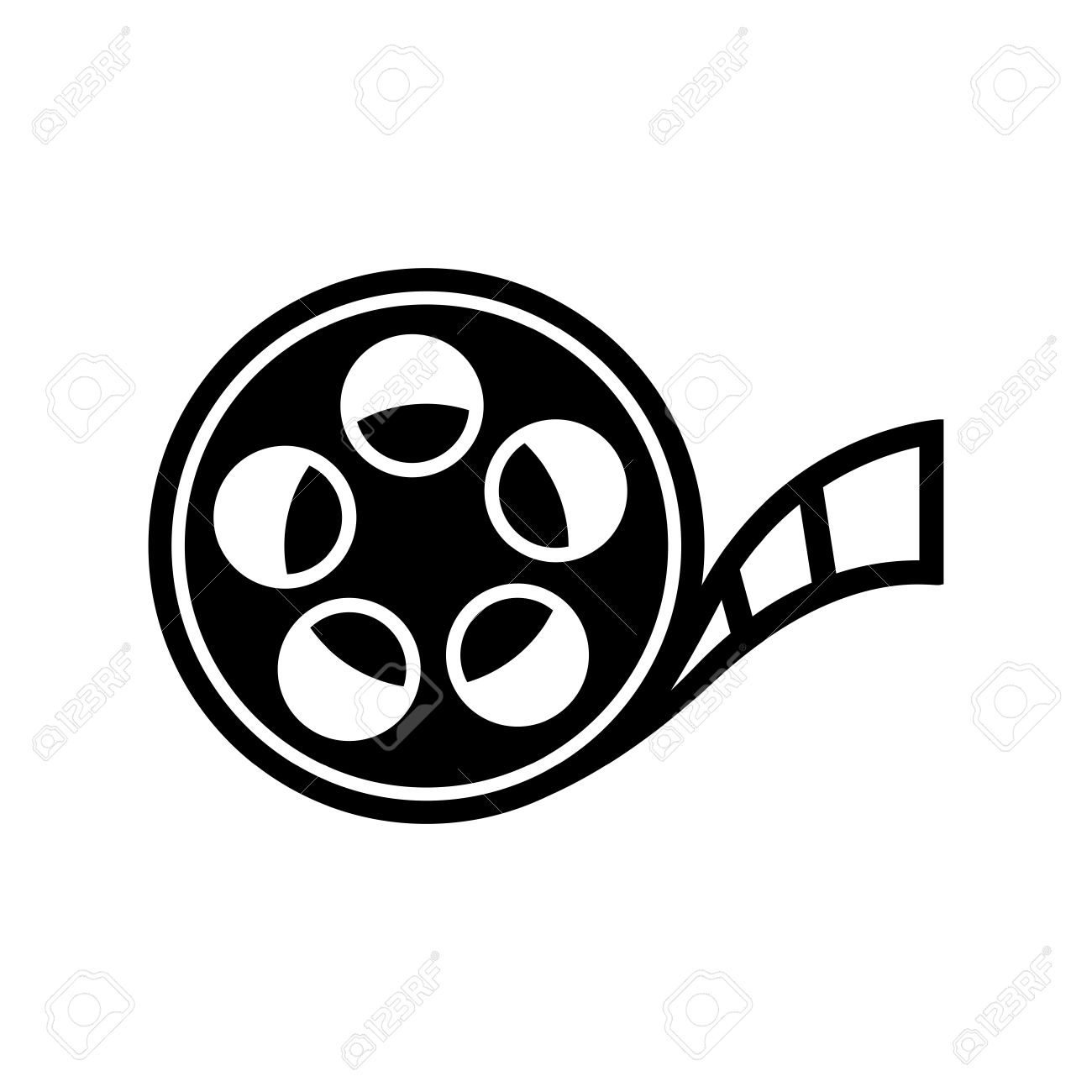 Film reel stock photos royalty free film reel images film reel icon altavistaventures