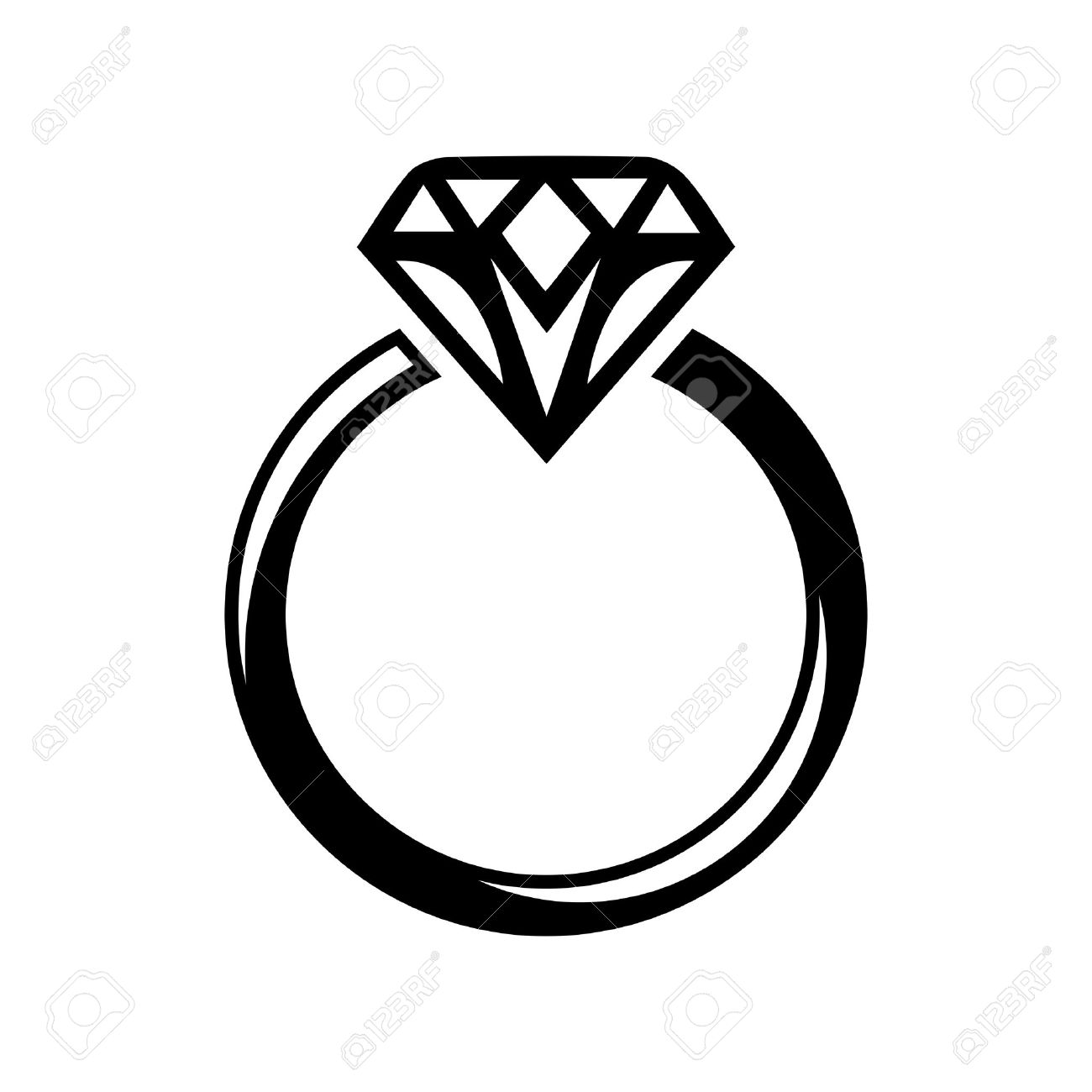 21227 Engagement Ring Stock Illustrations Cliparts And Royalty