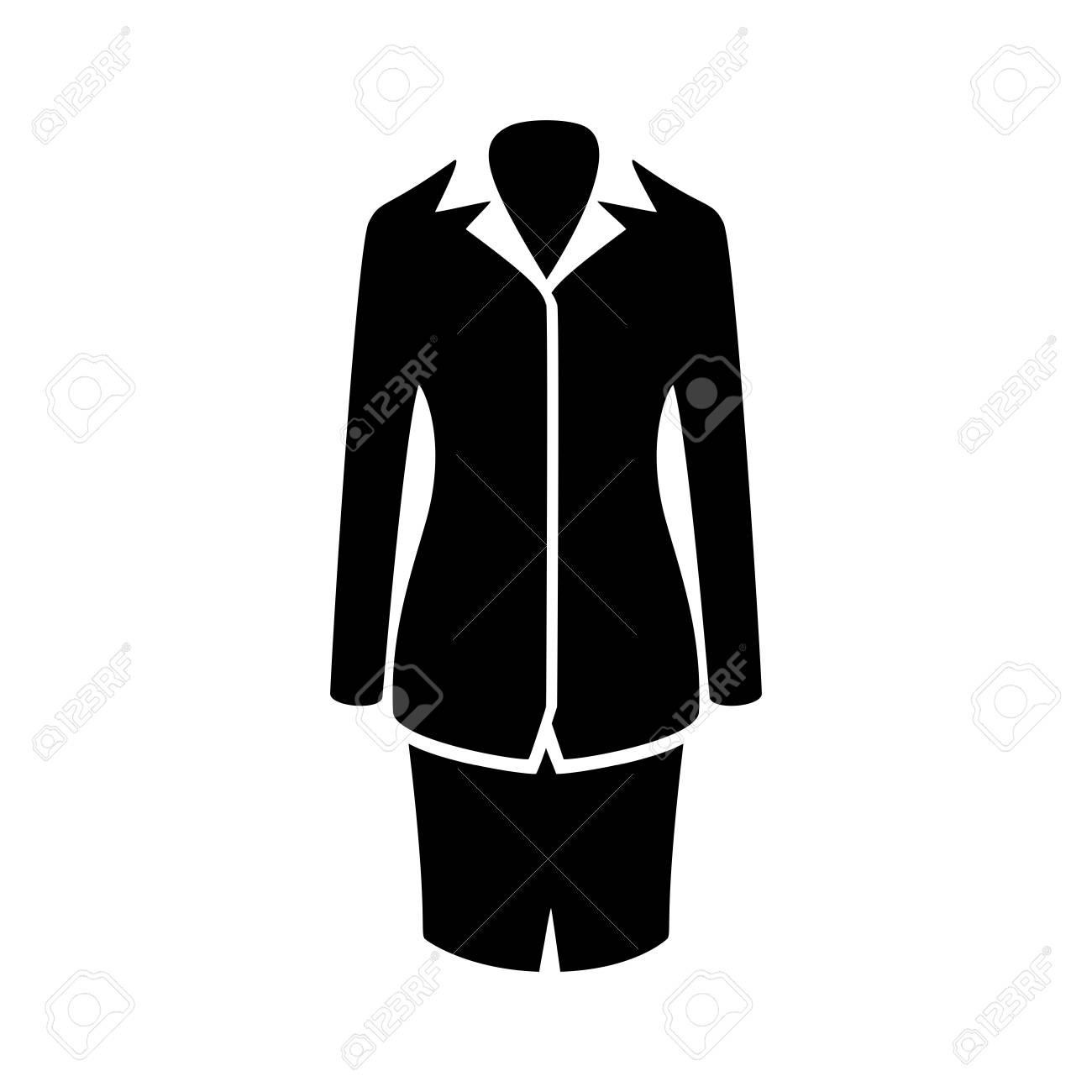 Women suit icon royalty free cliparts vectors and stock women suit icon stock vector 45755592 publicscrutiny Gallery