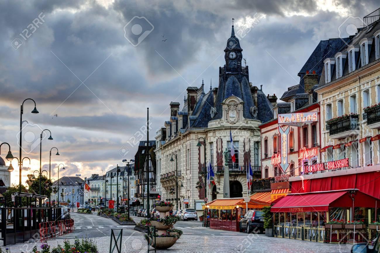 images de la ville de Deauville