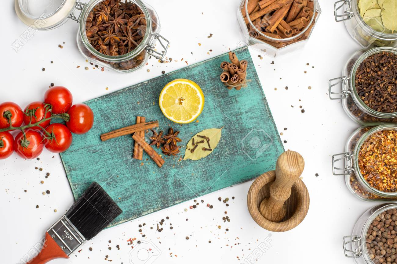 Spices And Herbs. Food, Cuisine Ingredients Photography, Fresh ...