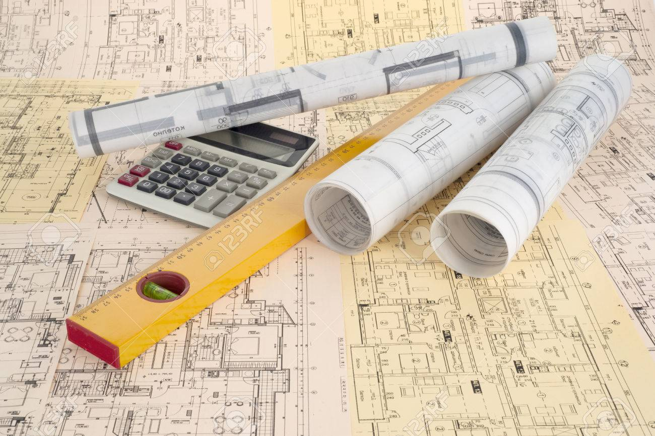 Calculator, level and project drawings - 35996914