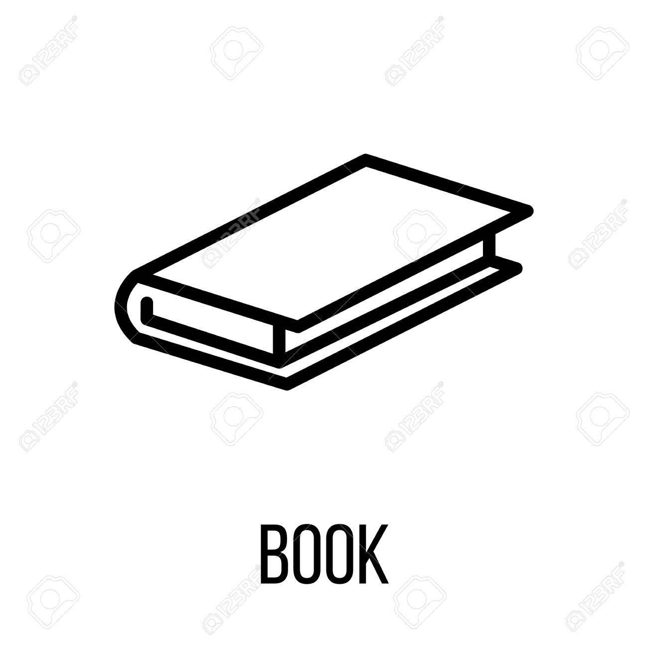 Icone Du Livre Ou Dans Le Style De Ligne Moderne Haute Qualite Contour Noir Pictogramme Pour La Conception De Sites Web Et Les Applications Mobiles