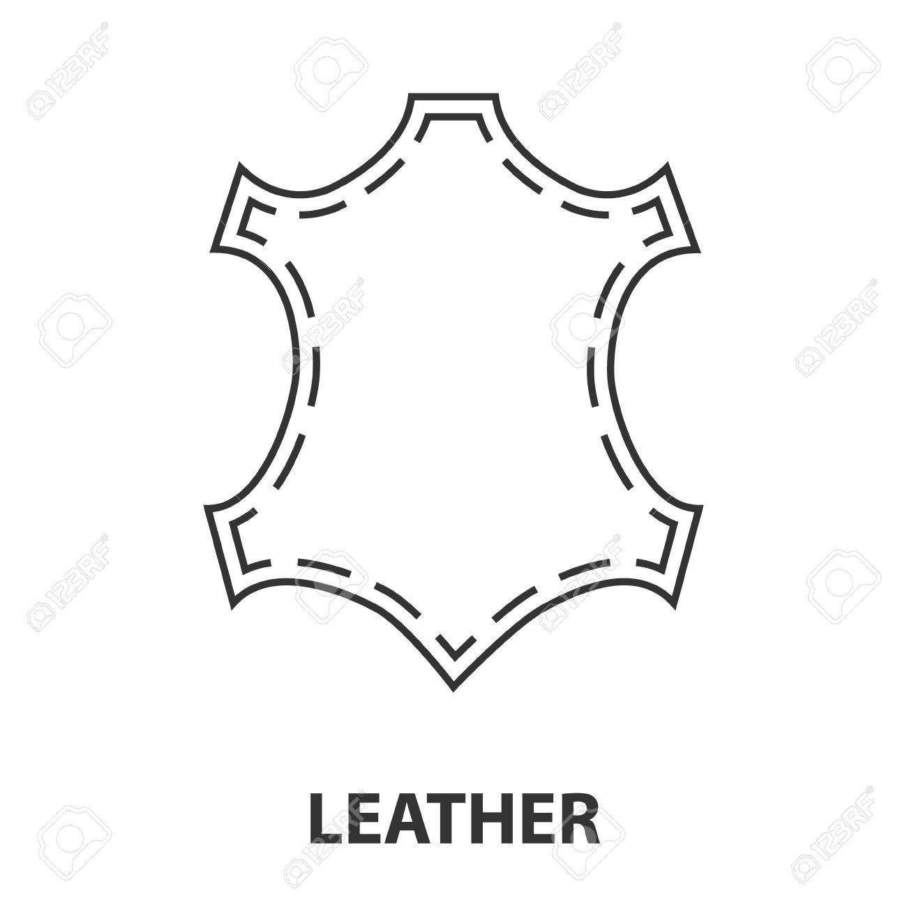 leather icon or logo line art style vector illustration royalty free cliparts vectors and stock illustration image 69423886 leather icon or logo line art style vector illustration