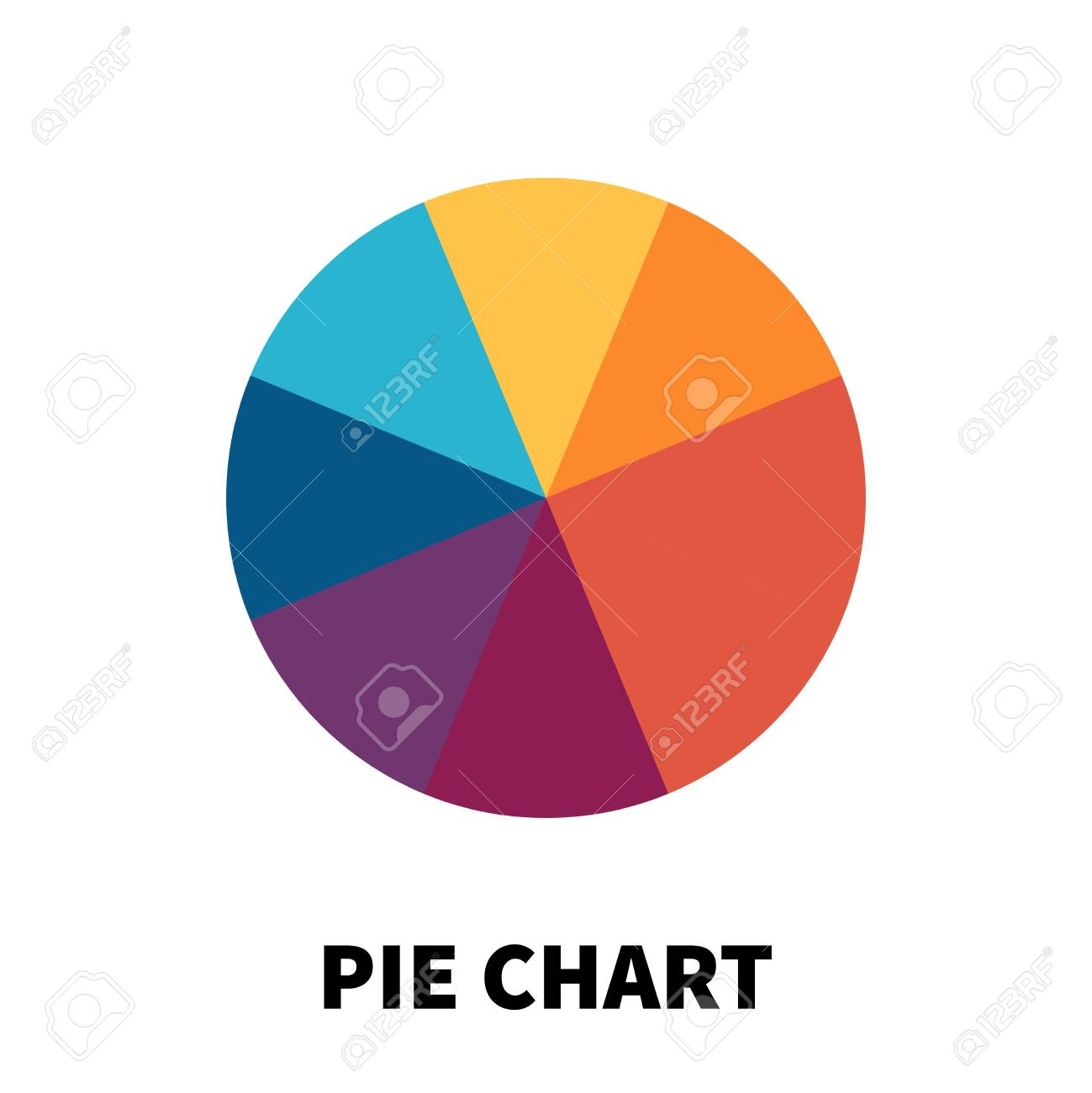 Pie chart icon or logo in modern flat style high quality black pie chart icon or logo in modern flat style high quality black pictogram for web ccuart Image collections