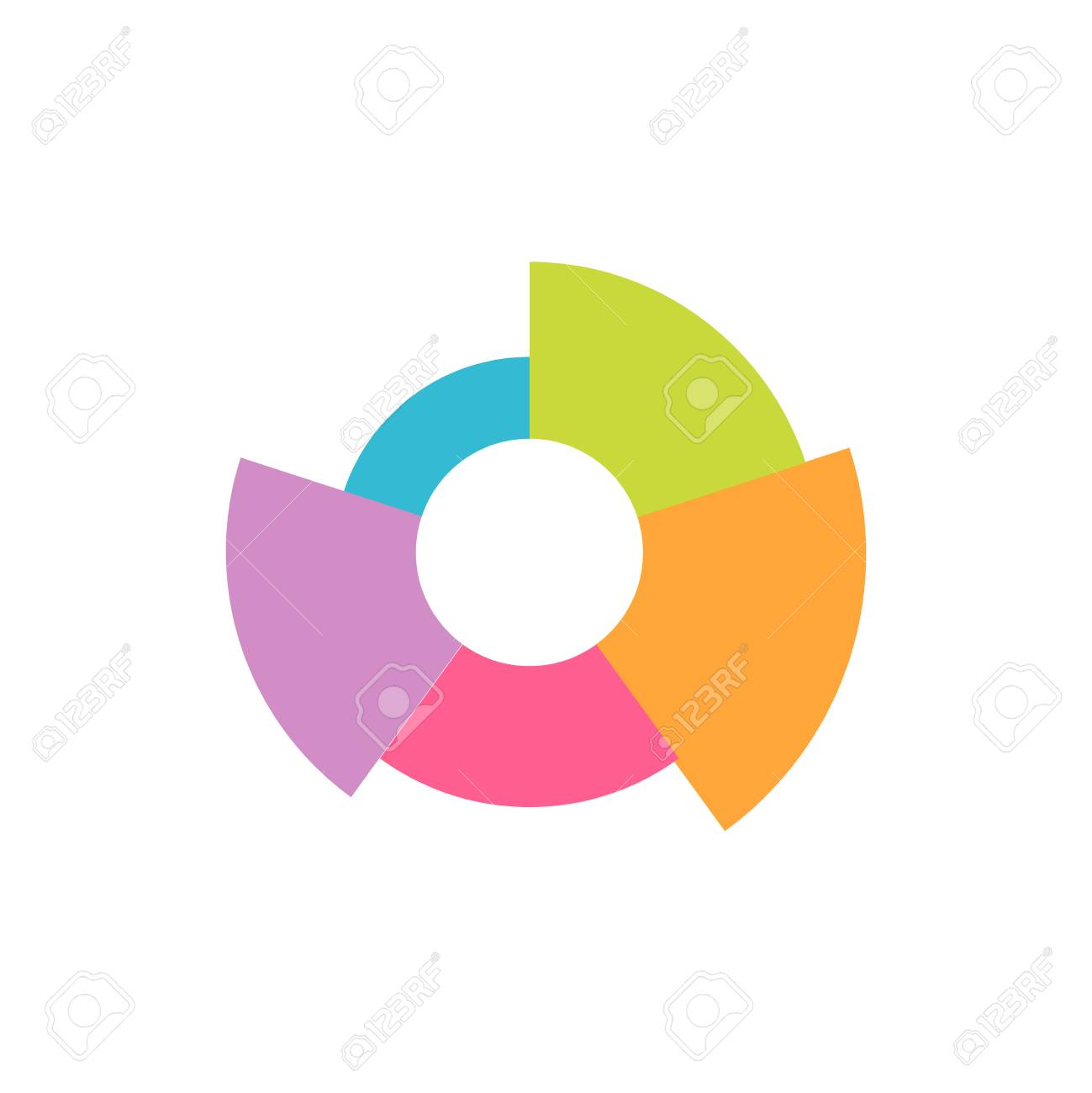 Pie chart icon or logo in modern flat style high quality black banco de imagens pie chart icon or logo in modern flat style high quality black pictogram for web site design and mobile apps vector illustration on a ccuart Images