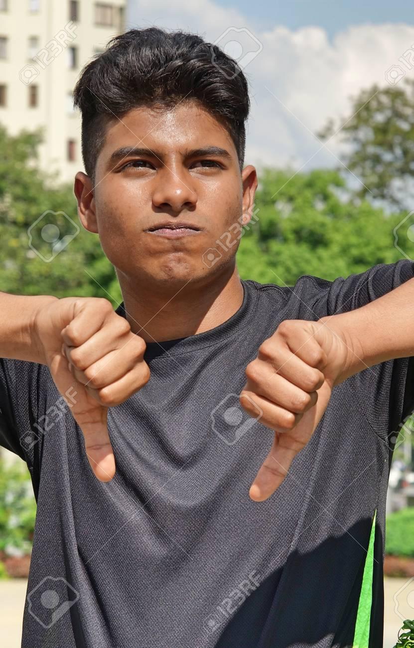 Latino boy thumbs free pic 777