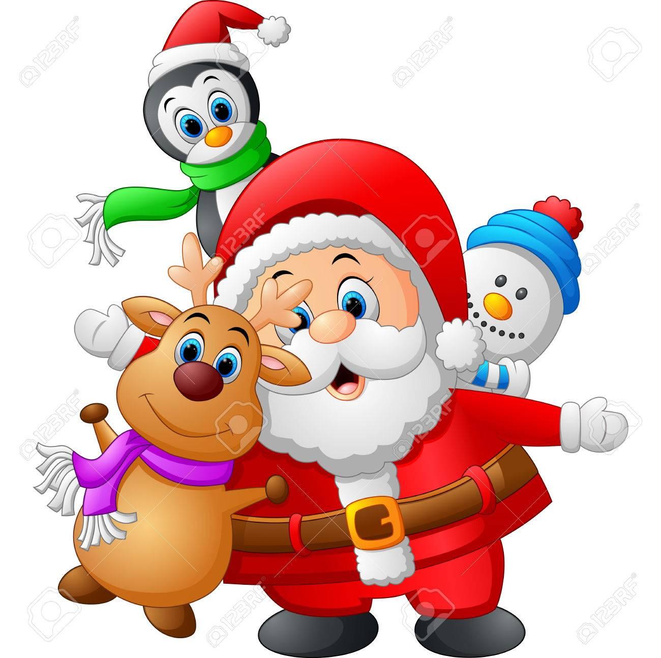 Colecciones De Munecas De Dibujos Animados De Navidad Fotos
