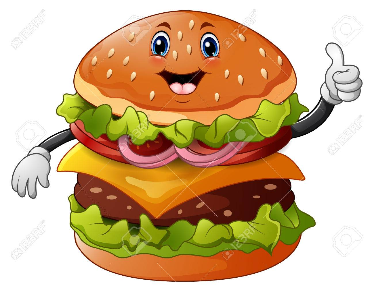 Image result for CARTOON burger