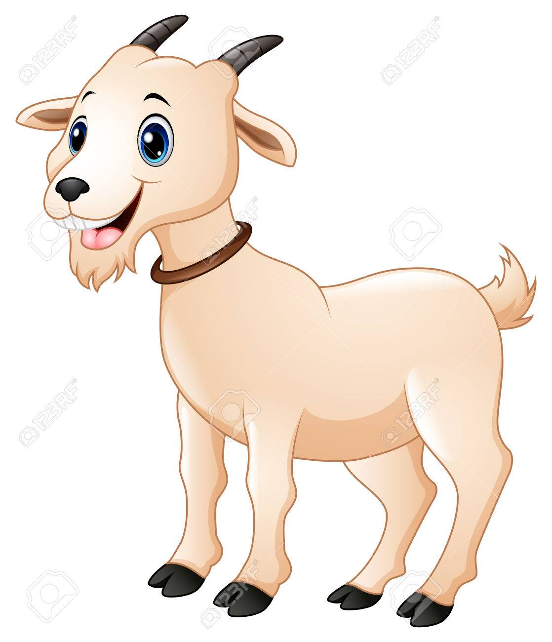 cute goat cartoon stock photo picture and royalty free image image rh 123rf com baby goat cartoon pictures goat cartoon images black and white