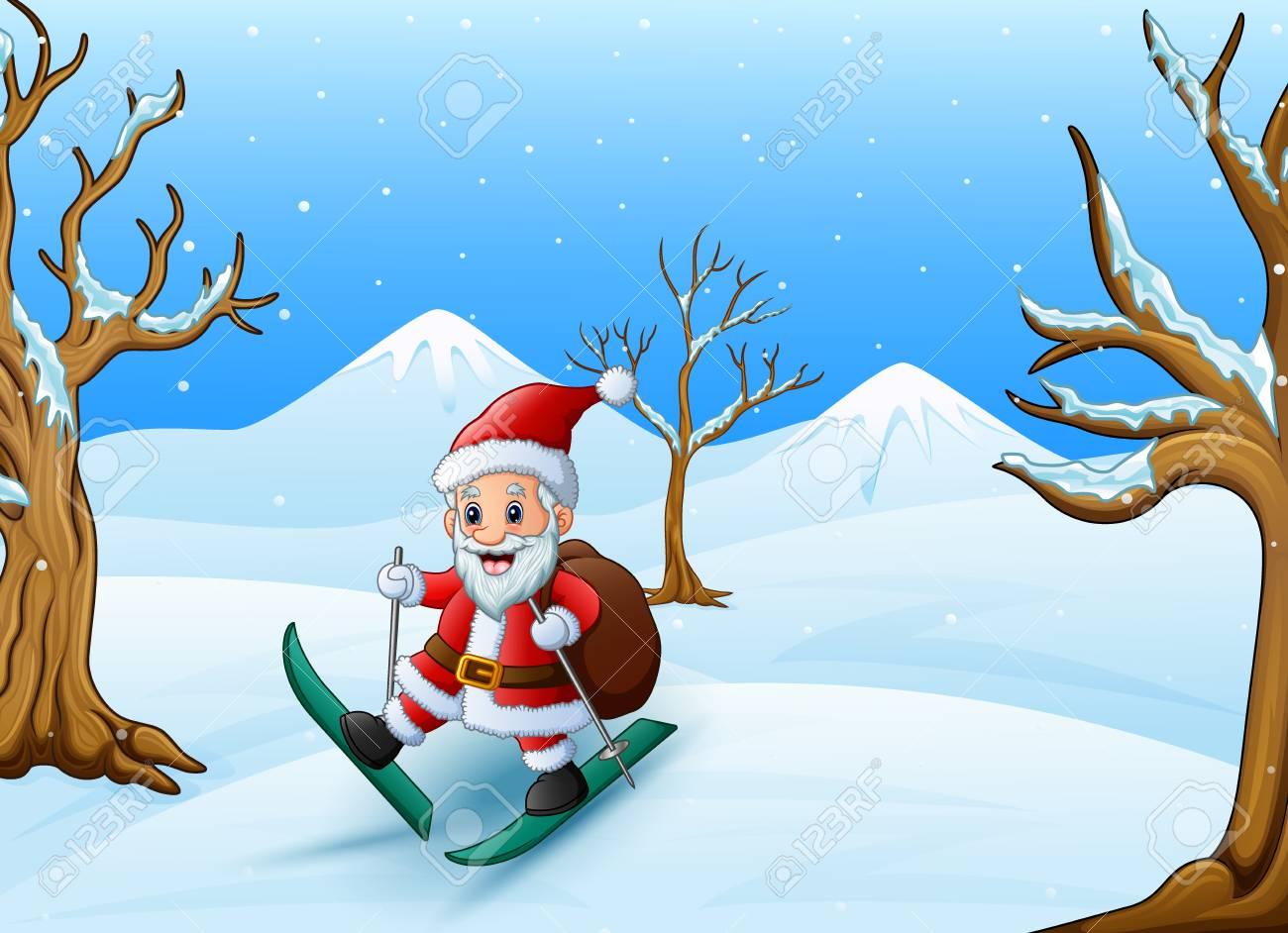 """Résultat de recherche d'images pour """"joyeux noel image ski de fond"""""""