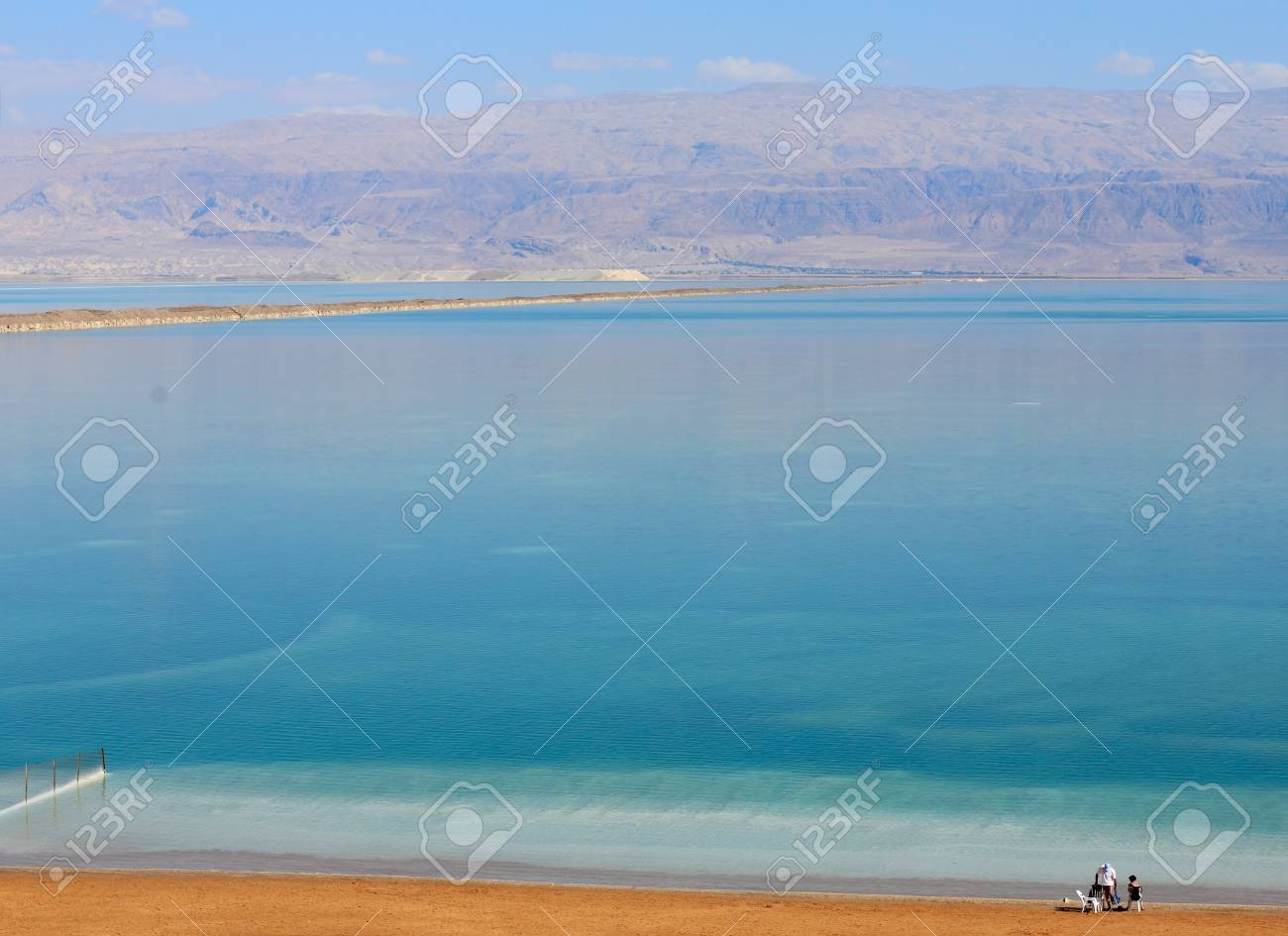 Dead Sea. Each year, the Dead Sea drying up. Stock Photo - 12441482
